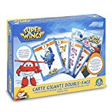 SUPERWINGS KARTEN RIESEN DOUBLE-FACE