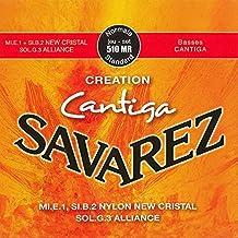 Savarez 656297 - Cuerdas para Guitarra Clásica Creation Cantiga 510MR juego, Tensión normal