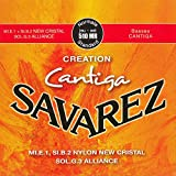 Savarez Saiten für Klassikgitarre Creation Cantiga 510MR Satz Normal Tension