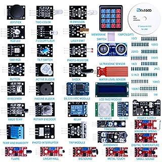 Elegoo aufgerüsteter 37 in 1 Sensormodul Bausatz mit Anleitung für Arduino