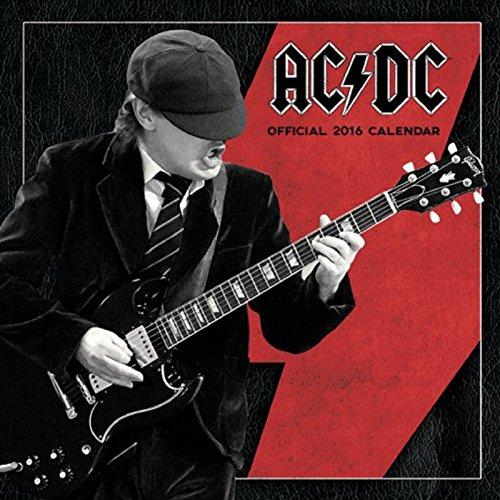 AC/DC Angus ghiaccio nero nuovo ufficiale Nuovo 30X 30cm 2016calendario da parete