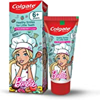 Colgate Kids Anticavity Toothpaste for 6+ Years, 80g, Barbie, Strawberry Flavour