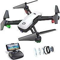 SANROCK U52 Drone con Telecamera 1080P HD Drone Professionale, WiFi Video Diretta FPV Droni Telecomandati per Principianti, Mantenimento dell'altitudine, Modalit¨¤ Senza Testa, Capovolgimento 3D