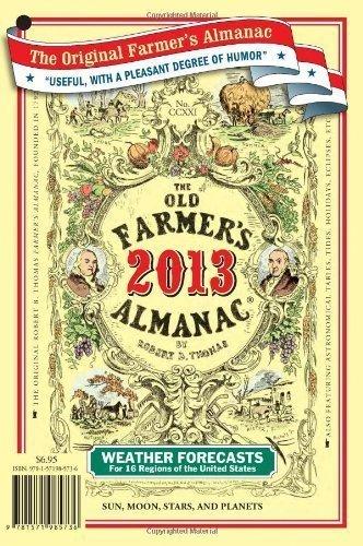 The Old Farmer's Almanac 2013 by Almanac, Old Farmer's (9/3/2012)