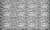 Tapeto Fototapete - Graue Backsteinmauer - Vlies 368 x 254 cm (Breite x Höhe) - Wandbild Imitation, Struktur und Textur
