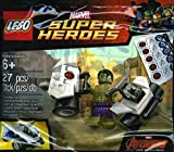LEGO Super Heroes The Avengers Der Hulk mit Auto Polybag 5003084