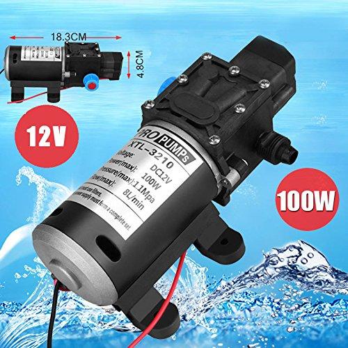 Schwarz Glänzend 15 x 3 x 3 cm Gabel//Dämpferpumpe 600 PSI Max
