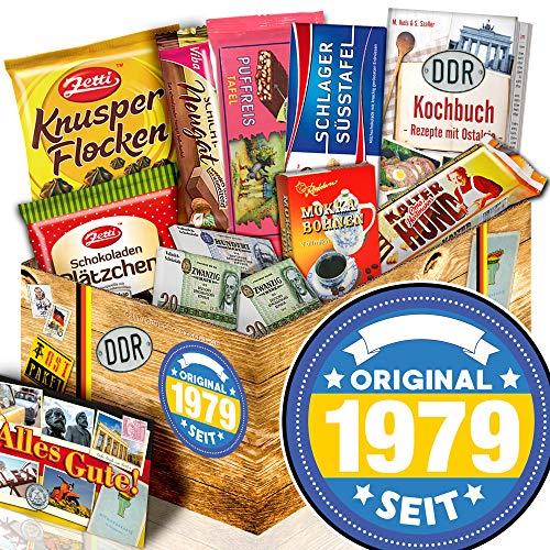 Original seit 1979   DDR Korb Schokolade   Geschenk zum 40. Geburtstag