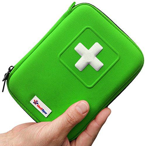 medispor-100-piece-first-aid-kit-green-hard-case