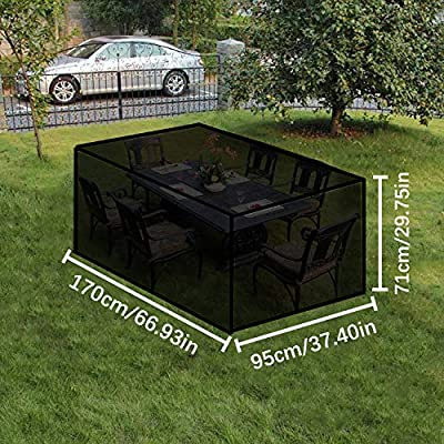 Awnic Garden Table Cover Waterproof