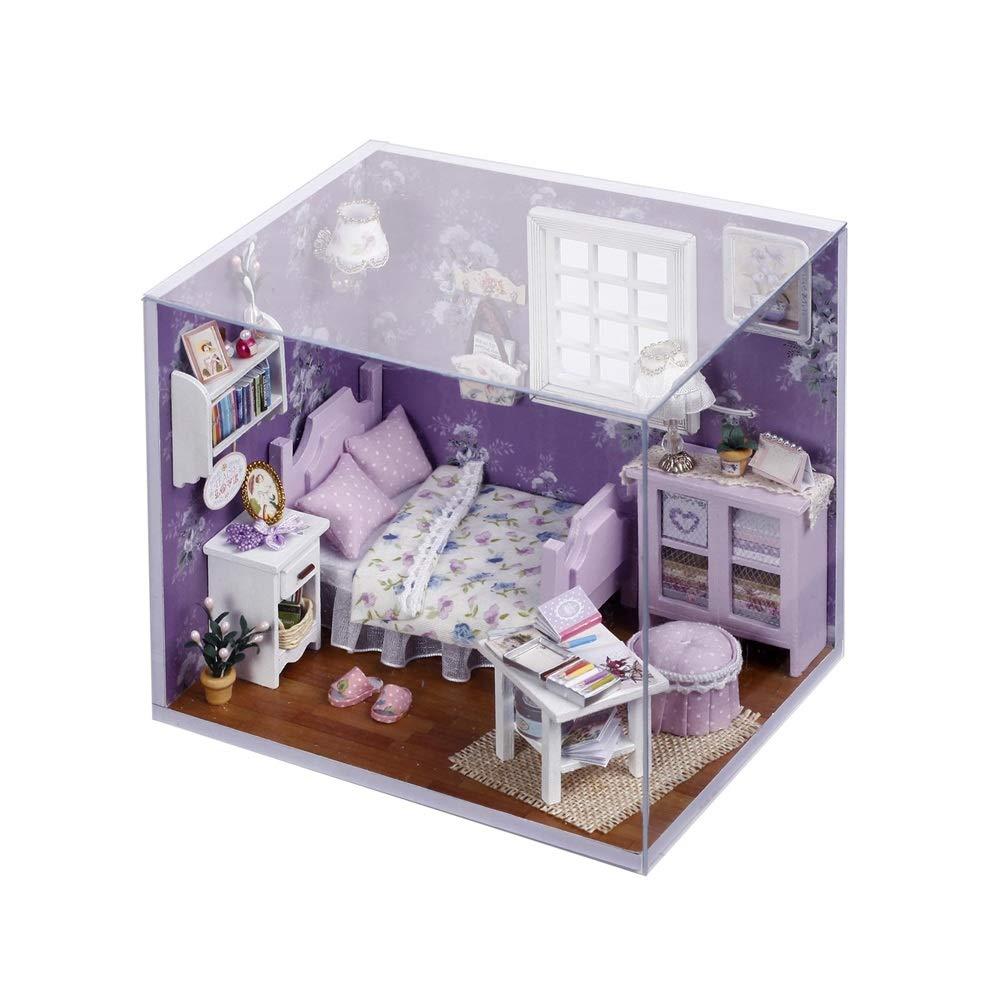 Giocattoli Per Bambini Puzzle 3d Casa Delle Bambole Fatta A Mano In