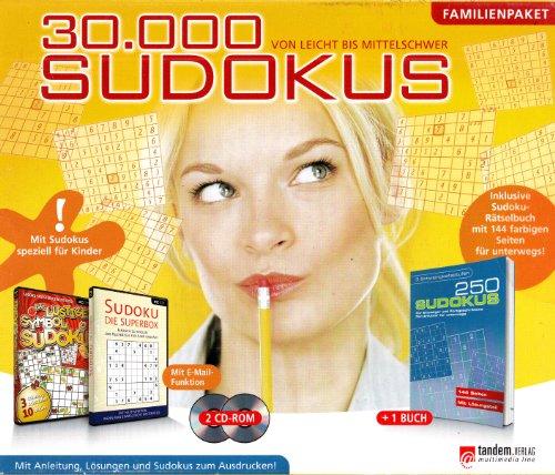 30.000 Sudokus und Kakuros Premium Edition