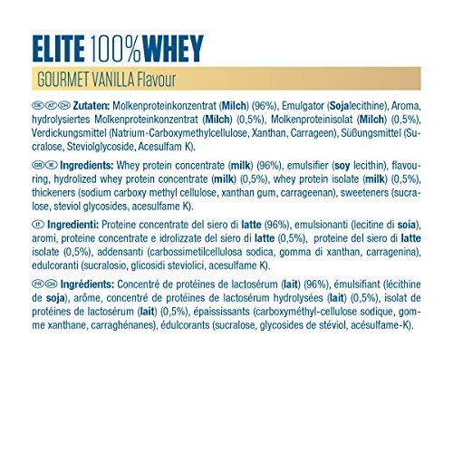 Dymatize Elite 100% Whey Protein – Premium Proteinpulver – Zuckerarmer Eiweiß-Shake – 2,1 kg Gourmet Vanilla - 3