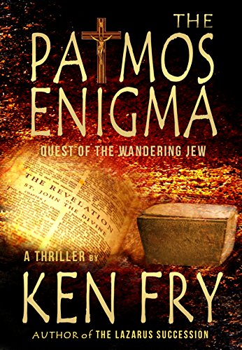 Book cover image for The Patmos Enigma: Quest of The Wandering Jew