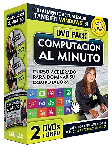 Computación Al Minuto Audiopk (Libro + 2dvds) / Computer Course in a Minute