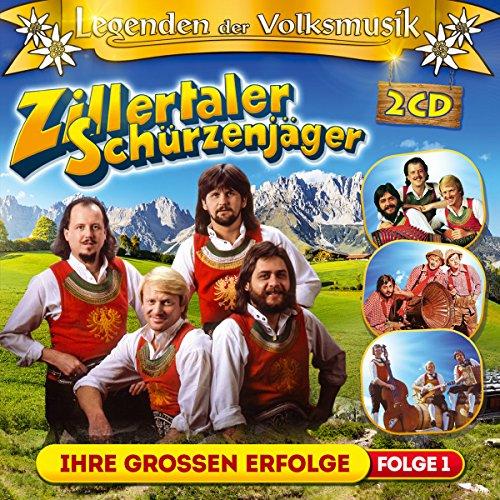 Tiroler Grüne (Legenden der Volksmusik; Ihre Grossen Erfolge; 40 Originalaufnahmen; Zillertaler Hochzeitsmarsch; Ohne Musig geht nix; Solojodler; Die Berge die sind mein Zuhaus; Grüne Tannen; Jagertoni; Tirol i bin a Kind von dir; Timple Boarischer; Hey Man Polka)