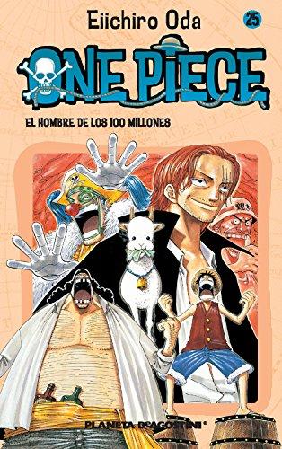 One Piece 25, El hombre de los 100 millones Cover Image