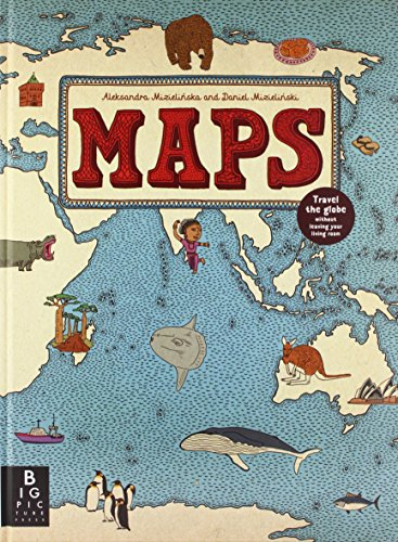 Maps by Aleksandra Mizielinska (1-Oct-2013) Hardcover