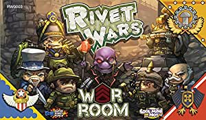 Rivet Wars - extension War Room - Chiffres - Cool Mini Or Not