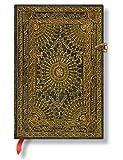 MARRONE Ventaglio Barock Paperblanks Midi Mini Notizbuch mit Seiten