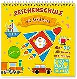 Zeichenschule: Fahrzeuge: mit Schablonen