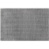 Manteles individuales de vinilo fáciles de limpiar de Vinylla., vinilo, metálico, 4 unidades