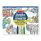 #10: Melissa & Doug 4226 Jumbo Coloring Pad, Blue (11-inch x 14-inch)