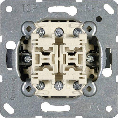 Jung Einsatz Doppel-Wechselschalter LS 990, AS 500, CD 500, LS Design, LS Plus, FD Design, A 500, A Plus, A Creation, CD