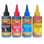 Ekoset Epson Tanklı yazıcılar için Mürekkep 4 Renk 4x100ml
