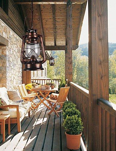 SWENT Moderne einfache/Retro/LED-pendelleuchten Max 60 W Land/Laterne Mini Style Bronze pendelleuchten Wohnzimmer/Schlafzimmer/Esszimmer -