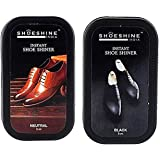 Shoeshine Shoe Cream & Shoe Shiner for smooth leather shoes & boots