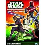 Star Wars The Clone Wars 2013 Sticker Album