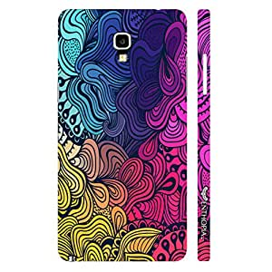 Samsung Note 3 Neo Colour Coral designer mobile hard shell case by Enthopia