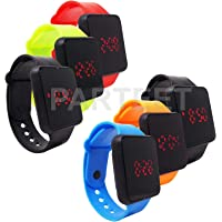 Parteet Smart LED Digital Watch Bands -for Birthday Party Return Gifts for Kids(Pack of 6)(Mix Assorted)
