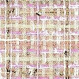 Linton Tweed-Stoff, Meterware, Cremefarben, Cremefarben und
