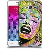 Official Dean Russo Golden Marilyn Iconic 2 Soft Gel Case for Samsung Galaxy Grand Prime