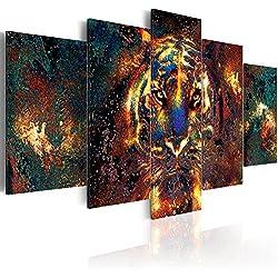 murando - Cuadro en Lienzo 200x100 cm - Animal - Impresion en calidad fotografica - Cuadro en lienzo tejido-no tejido - Tigre g-B-0024-b-p