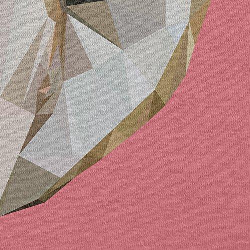 Texlab–Poly Owl–sacchetto di stoffa Pink
