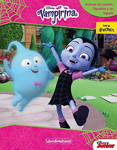 Vampirina. Libroaventuras: Libro-juego. Incluye un tablero y figuras para jugar (Disney. Vampirina)