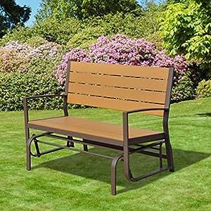 Panchine da giardino in ferro battuto idee di design for Panchine da giardino amazon