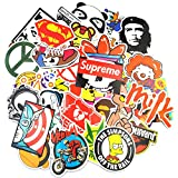 Sticker Pack (200-Pcs) Neuleben Graffiti Sticker Decals Vinyls for Laptop,Kids,Teens,Cars,Motorcycle,Bicycle,Skateboard Luggage,Bumper Stickers Hippie Decals bomb Waterproof