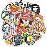 Autocollant Lot (200-pcs) Graffiti Autocollant Stickers vinyles pour ordinateur portable, enfants, voitures, moto, vélo, Skateboard bagages, Bumper Stickers hippie autocollants Bomb étanche