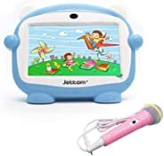 JETTOM J1 7-inch 8GB ROM 512MB RAM 2G IPS LCD Dual Camera Kids Tablet (Blue)