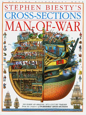 Stephen Biesty's Cross-Sections: Man-Of-War by Richard Platt (1993-09-15)