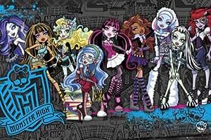 Personnages de Monster High Poster Grand Format 61 x 91.5 cm