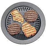 "Bureze Chefmaster 13 Smokeless Indoor Stovetop Barbecue BBQ Grill Kitchen Pan Griddle"""