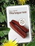 Wurst Quartett Original Wurstquartett Metzger Trumpf Kartenspiel