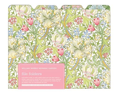 V&A William Morris Garden 8 File Folders by Galison Victoria & Albert Museum(2010-12-01)