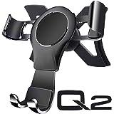 Car Phone Holder for Audi Q2, Audi Q2 Phone Holder Telefoon Mount Phone Cradle Gravity Auto Lock Sterke aluminium legering St