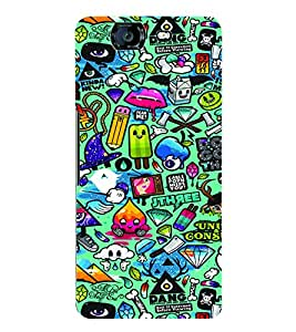 Fuson 3D Printed Jewel Thief Designer Back Case Cover for Micromax Canvas Knight A350 - D597